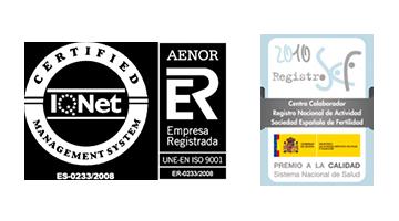 Certificados de Calidad | Jose Luis Castillo - Reproducción Asistida